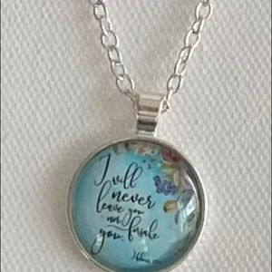 $9 w/ purchase New Scripture Necklace